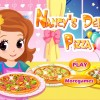 Game Nancy làm pizza